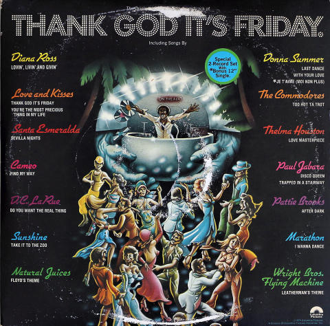 """Thank God It's Friday Vinyl 12"""""""