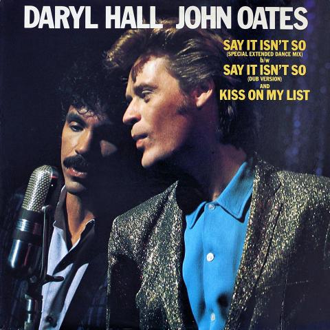 "Hall & Oates Vinyl 12"""