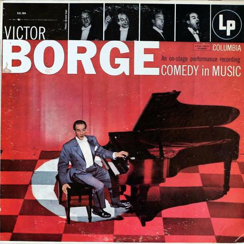 "Victor Borge Vinyl 12"""