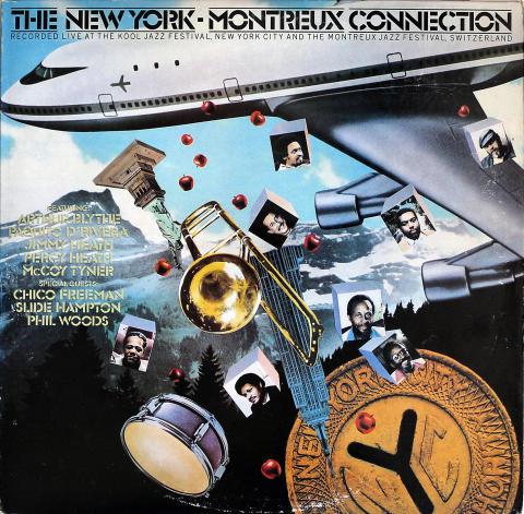 "The New York - Montreux Connection Vinyl 12"""