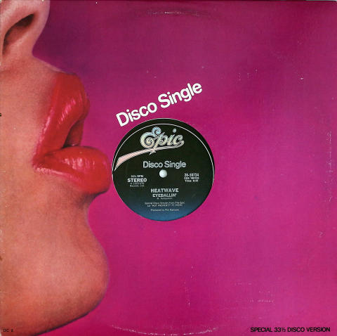 "Heatwave Vinyl 12"""