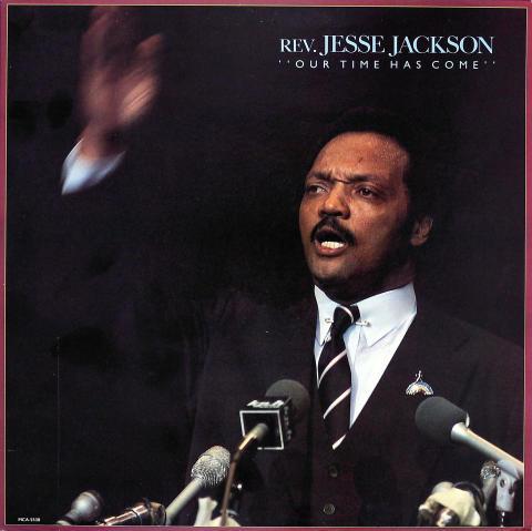 "Rev. Jesse Jackson Vinyl 12"""