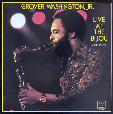 "Grover Washington Jr. Vinyl 12"""