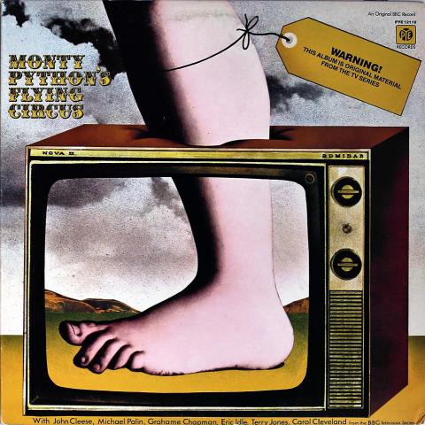 "Monty Python's Flying Circus Vinyl 12"""
