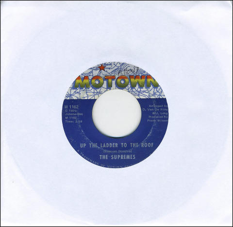 """The Supremes Vinyl 7"""" (Used)"""