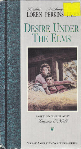 Desire Under the Elms VHS