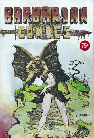 California Comics: Barbarian Comics #3
