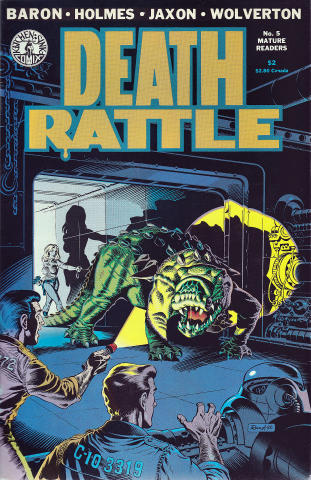 Death Rattle (1985 2nd Series) #5