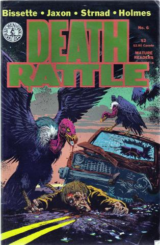 Kitchen Sink: Death Rattle (1985 2nd Series) #6