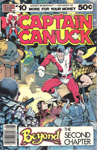 Comic Corp of America: Captain Canuck #10