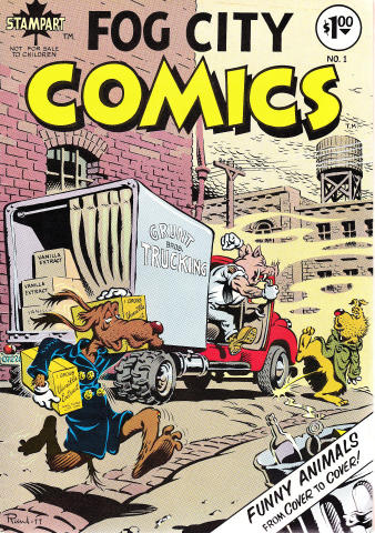 Fog City Comics #1