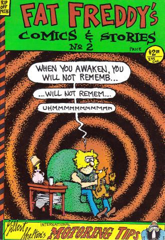 Rip Off Press: Fat Freddy's Comics & Stories No. 2