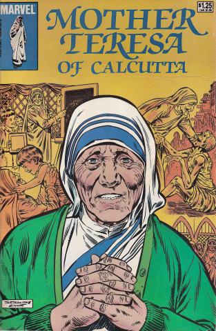 Marvel Comics: Mother Teresa Of Calcutta