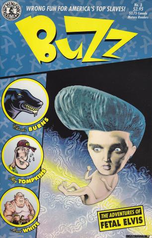 Buzz #3 Comic Book