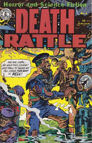 Kitchen Sink: Death Rattle (1985 2nd Series) #3
