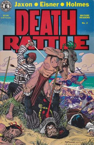 Kitchen Sink: Death Rattle (1985 2nd Series) #2
