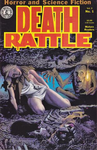 Kitchen Sink: Death Rattle (1985 2nd Series) #1