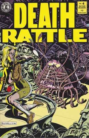 Kitchen Sink: Death Rattle (1985 2nd Series) #4