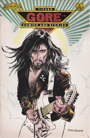 Revolutionary Comics: Tipper Gore's Comics And Stories #4