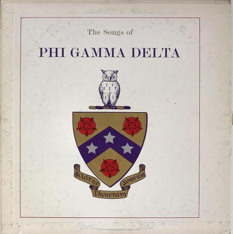 "The Songs Of Phi Delta Gamma Vinyl 12"""