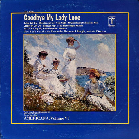 "New York Vocal Ensemble Vinyl 12"""