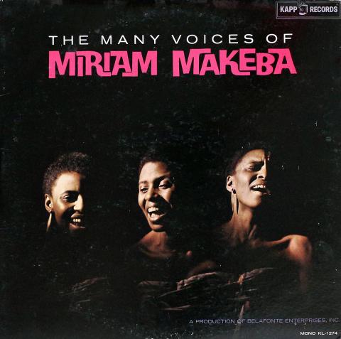 "Miriam Makeba Vinyl 12"""