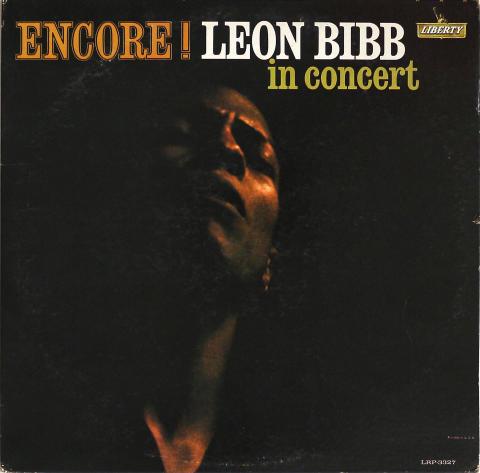 "Leon Bibb Vinyl 12"""