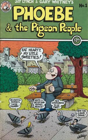 Kitchen Sink: Phoebe & the Pigeon People # 1