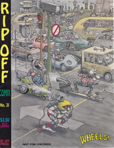 Rip Off Press: Rip Off Comix #31