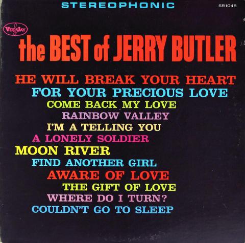 "Jerry Butler Vinyl 12"""