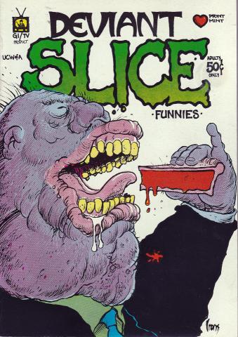 The Print Mint: Deviant Slice Funnies #1