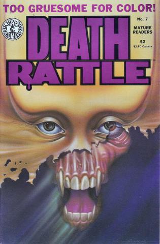 Kitchen Sink: Death Rattle (1985 2nd Series) #7