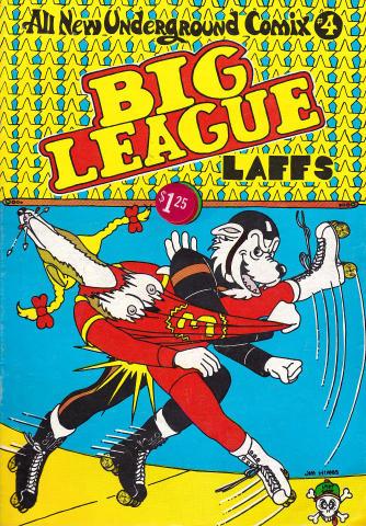 Last Gasp: All New Underground Comix #4 - Big League Laffs