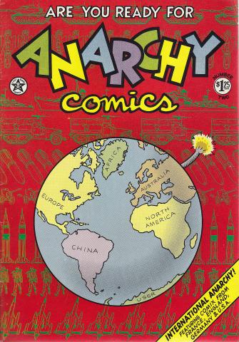 Last Gasp: Anarchy Comics #1
