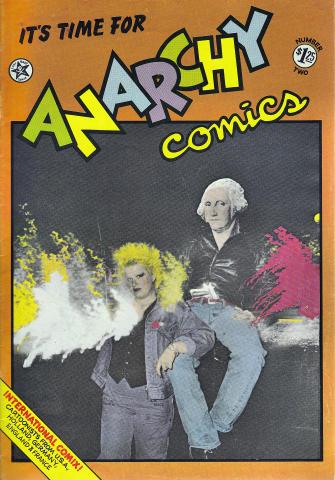 Last Gasp: Anarchy Comics #2