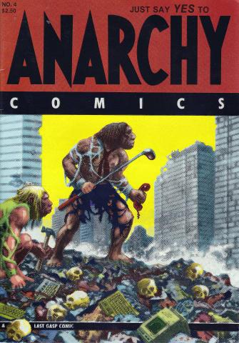 Last Gasp: Anarchy Comics #4