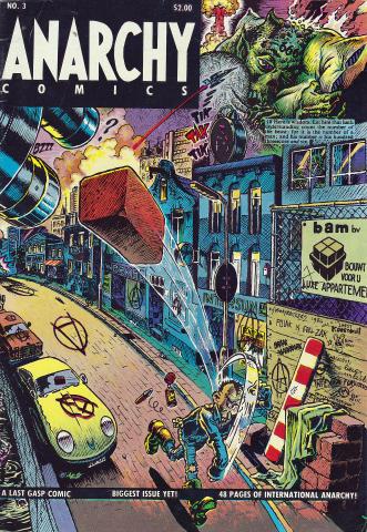Last Gasp: Anarchy Comics #3
