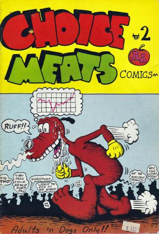 Adams Apple Distribution: Choice Meats Comics #2