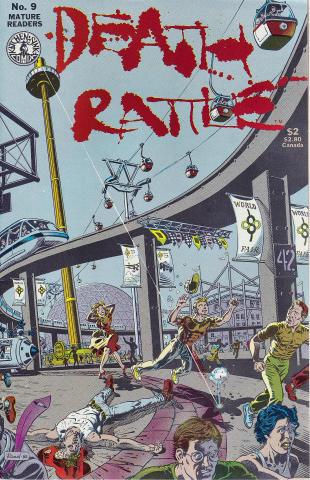 Kitchen Sink: Death Rattle (1985 2nd Series) #9
