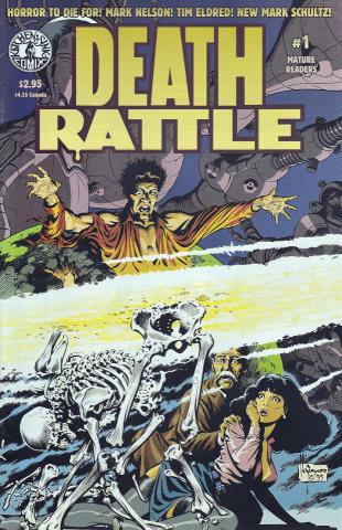 Kitchen Sink: Death Rattle (1995 3rd Series) #1