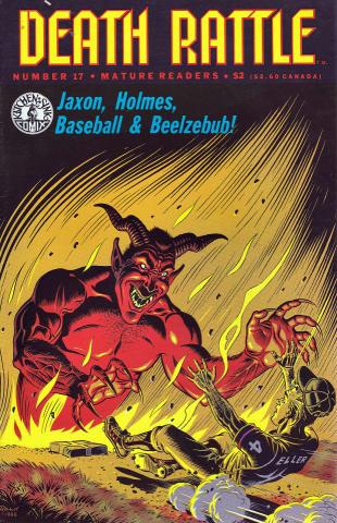 Kitchen Sink: Death Rattle (1985 2nd Series) #17