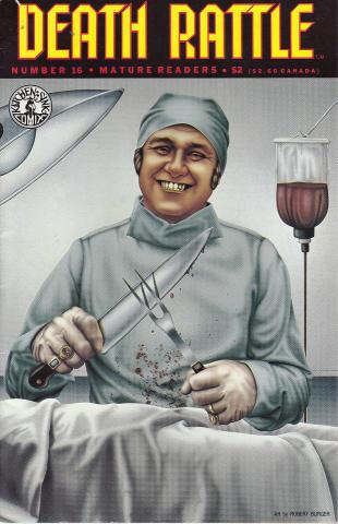 Kitchen Sink: Death Rattle (1985 2nd Series) #16