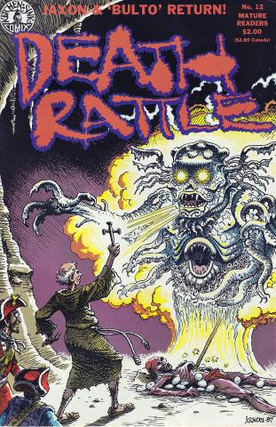 Kitchen Sink: Death Rattle (1985 2nd Series) #12