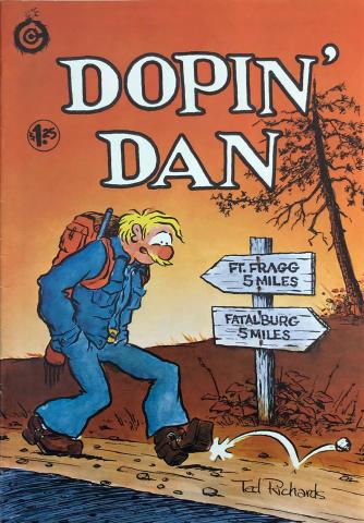 Last Gasp: Dopin' Dan #3