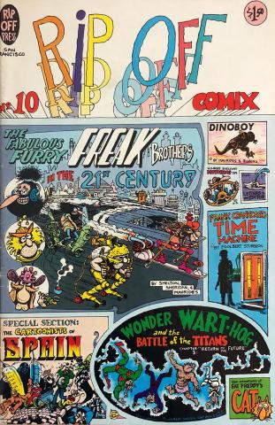 Rip Off Press: Rip Off Comix #10