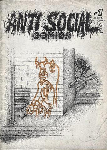 Anti-Social Comics #1