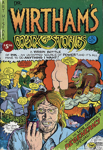 Dr. Wirtham's Comix & Stories #4