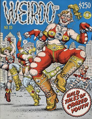 Last Gasp: Weirdo #10