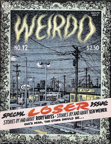 Last Gasp: Weirdo #12