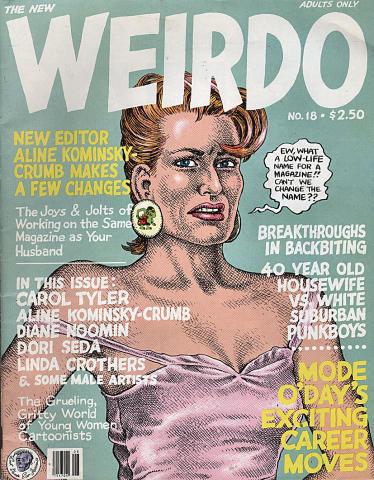 Last Gasp: Weirdo #18